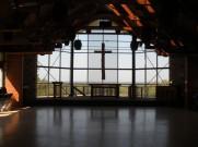 The Bea-you-tiful chapel interior!