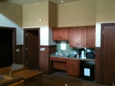 Kitchenette for the Drury/family house