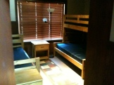 One of the lodging rooms for our family