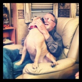 Grandpa Lynn and Bue : )