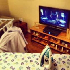 Sunday night ironing and Law & Order: UK