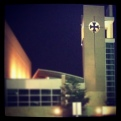 Lovely campus at night