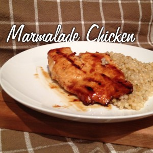 Marmalade Chicken from Mancktastic!