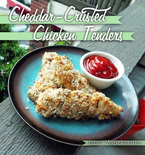 Cheddar-CrustedChickenTenders