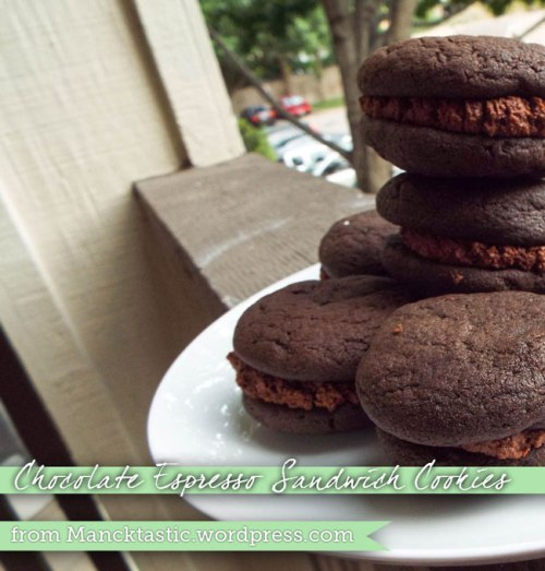 Chocolate-Espresso Cookies from Mancktastic!