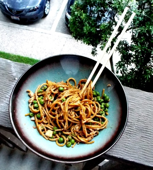 Easy-Peasy Fried Noodles from Mancktastic!