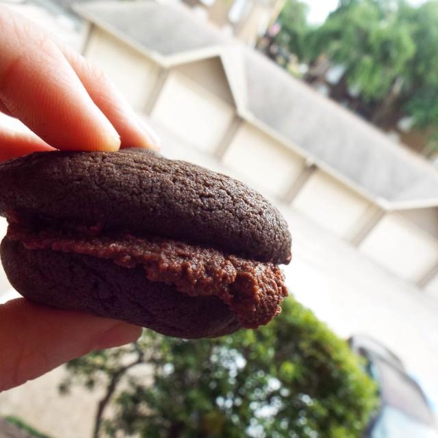 ... Dark Delights: Chocolate-Espresso Sandwich Cookies | Mancktastic