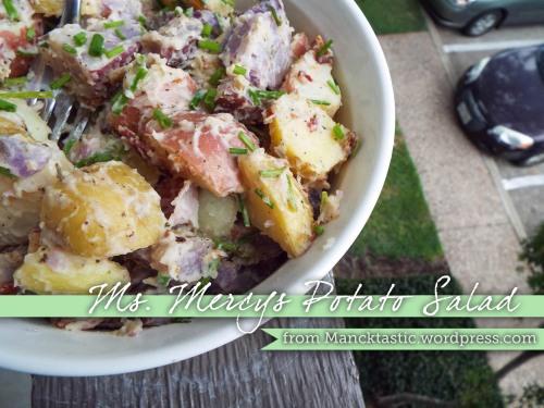 Ms. Mercy's Potato Salad from Mancktastic! at mancktastic.wordpress.com