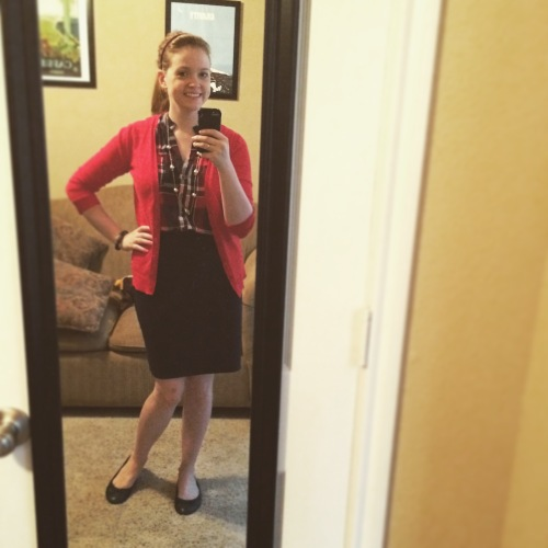 Recognize anything from this month's StitchFix? I just love the Leavenworth top!